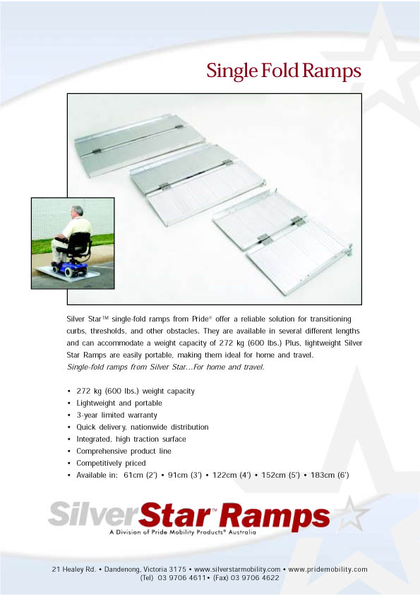 Single Fold Ramps brochure part 1